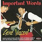 Gene Vincent Important Words