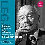 Sir Adrian Boult Brahms: Symphony No. 3 - Elgar: Symphony No. 1