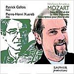 Patrick Gallois Wolfgang Amadeus Mozart: Duos Kv 423 & Kv 424 - La Flûte Enchantée (Transcriptions Pour Flûte Et Alto)
