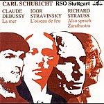 Carl Schuricht Debussy: La Mer - Stravinksy: The Firebird Suite - Strauss: Also Sprach Zarathustra (1952-1957)