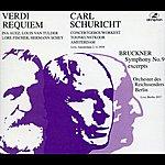 Carl Schuricht Verdi: Requiem - Bruckner: Symphony No. 9 (Excerpts) (1937, 1939)