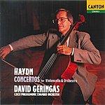 David Geringas Hayden: Concertos For Cello & Orchestra