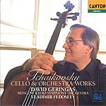 David Geringas Tchaikovsky: Cello And Orchestra Works