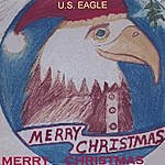 U.S. Eagle Merry Christmas