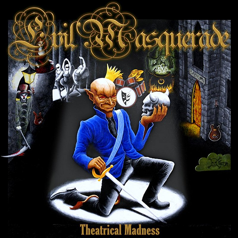 Cover Art: Theatrical Madness