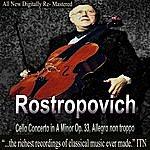 Moscow Philharmonic Orchestra Rostropovich Cello Concerto In A Minor Op. 33, Allegro Non Troppo