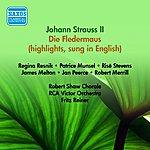 Fritz Reiner Strauss II: Fledermaus (Die) (Excerpts) (Sung In English) (Munsel, Resnik, Melton, Reiner) (1950)