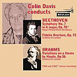 Sir Colin Davis Coiln Davis Conducts Beethoven And Brahms