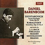 Daniel Barenboim Daniel Barenboim - Rare First Recordings 1955
