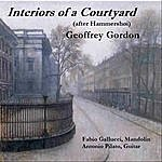 Geoffrey Gordon Interiors Of A Courtyard