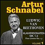 Artur Schnabel Ludwig Van Beethoven : Piano Sonata No. 1 To 3