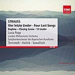 Lucia Popp Strauss: Vier Letzte Lieder - Four Last Songs (Daphne - Closing Scene - 12 Lieder)