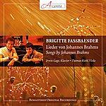 Brigitte Fassbaender Lieder Von Johannes Brahms