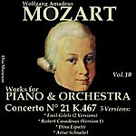 Emil Gilels Mozart, Vol. 10 : Concertos K467