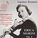 Erica Morini Beethoven: Violin Concerto In D Major, Sonata For Violin And Piano In F Major