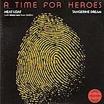 Meat Loaf A Time For Heroes - Single