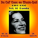 Damia Du Caf' Conc Au Music-Hall (1900-1950) En 50 Volumes - Vol. 16/50
