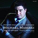 Martin Pearlman Mozart: Arias For Male Soprano