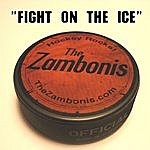 The Zambonis Fight On The Ice