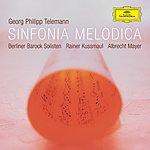 Berliner Barock Solisten Sinfonia Melodica - Works By Telemann