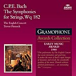 The English Concert Bach, C.P.E.: The Symphonies For Strings