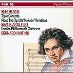 Beaux Arts Trio Beethoven: Triple Concerto/Piano Trio No.11 'kakadu' Variations
