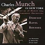 Charles Munch Charles Munch In New York (1954)