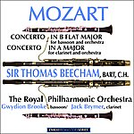 Sir Thomas Beecham Mozart: Concerto In B Flat Major For Bassoon And Orchestra And Concerto In A Major For Clarinet And Orchestra (Remastered)