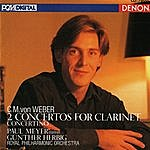 Gunther Herbig Weber: 2 Concertos, Concertino For Clarinet