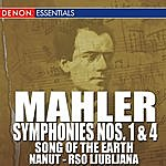 """Anton Nanut Mahler: Symphonies Nos. 1 & 4 - """"Song Of The Earth"""""""