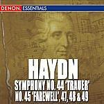 """Anton Nanut Haydn: Symphony Nos. 44 """"Trauer"""", 45 """"Farewell"""", 47, 48 & 49"""