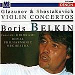 Jun'ichi Hirokami Glazunov & Shostakovich: Violin Concertos
