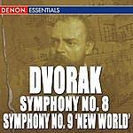"Anton Nanut Dvorak: Symphony No. 8 ""English Symphony"" & 9 ""From The New World"""