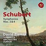 David Zinman Schubert: Symphonies Nos. 3 & 4