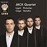 Jack Jack Quartet: Ligeti / Pintscher / Cage / Xenakis - Wigmore Hall Live