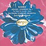 Baltimore Symphony Orchestra Barber: Adagio; Symphony No.1 Etc.