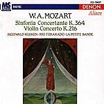 La Petite Bande Wolfgang Amadeus Mozart: Sinfonia Concertante & Violin Concerto