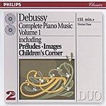 Werner Haas Debussy: Piano Works Vol.1 (2 Cds)