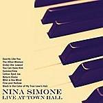 Nina Simone Live At Town Hall (Remastered)