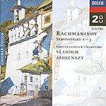 Royal Concertgebouw Orchestra Rachmaninov: Symphonies Nos.1 - 3 (2 Cds)