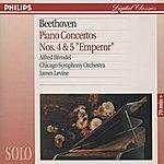 """Alfred Brendel Beethoven: Piano Concertos Nos.4 & 5 """"Emperor"""""""