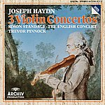 Simon Standage Haydn: Violin Concertos In C Major Hob.Viia: 1, In G Major Hob. Viia: 4, In A Major Hob. Viia: 3/ Salomon: Romance In D Major