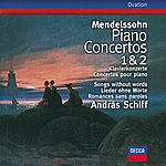 András Schiff Mendelssohn: Piano Concertos Nos.1 & 2; Songs Without Words