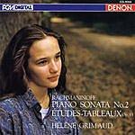 Hélène Grimaud Rachmaninoff: Sonata No. 2, Etudes-Tableaux, Op. 33 & Others