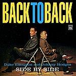 Johnny Hodges Back To Back (Side By Side)