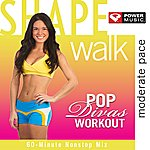 The Shape Shape Walk Pop Divas Workout - Moderate Pace (60 Minute Non-Stop Workout Mix Moderate Pace [130 Bpm])