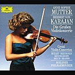 Anne-Sophie Mutter The Great Violin Concertos (4 Cd's)