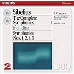 Boston Symphony Orchestra Sibelius: The Complete Symphonies, Vol.1 (2 Cds)