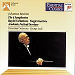 George Szell Brahms: Symphony No. 1, Variations On A Theme By Haydn & Five Hungarian Dances, Symphonies Nos. 2 & 3 And Symhony No. 4