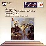 """George Szell Beethoven: Symphony No. 3 """"Eroica"""" & Symphony No. 8"""